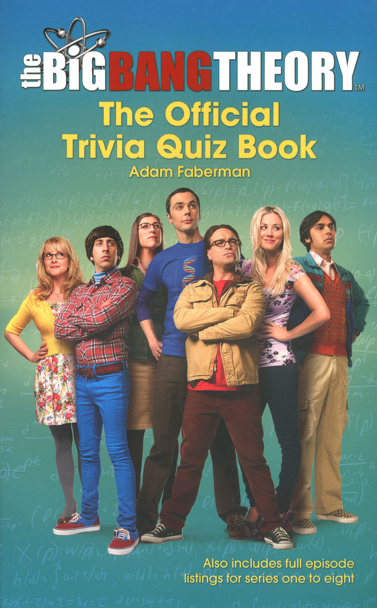 The Big Bang Theory: The Official Trivia Quiz Book kathryn cope the official book club guide the binding