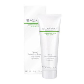 Janssen Балансирующий крем Combination skin с тональным эффектом 50 мл. восстанавливающий крем с лифтингэффектом 50 мл janssen demanding skin