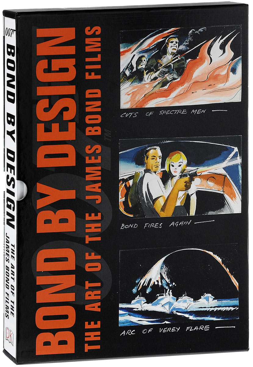 Bond By Design: The Art of the James Bond Films bond by design the art of the james bond films