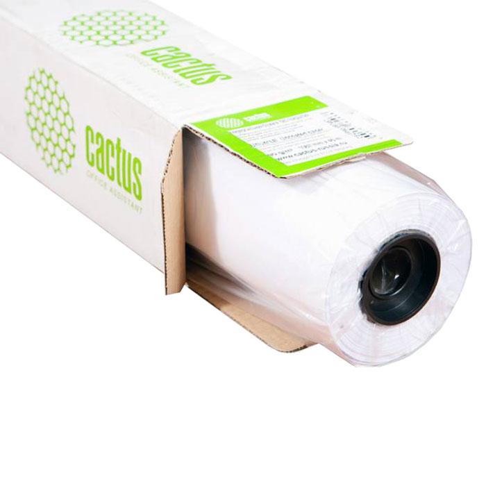 Бумага для плоттера Cactus CS-PC90-106745, для черно-белой печати, белый