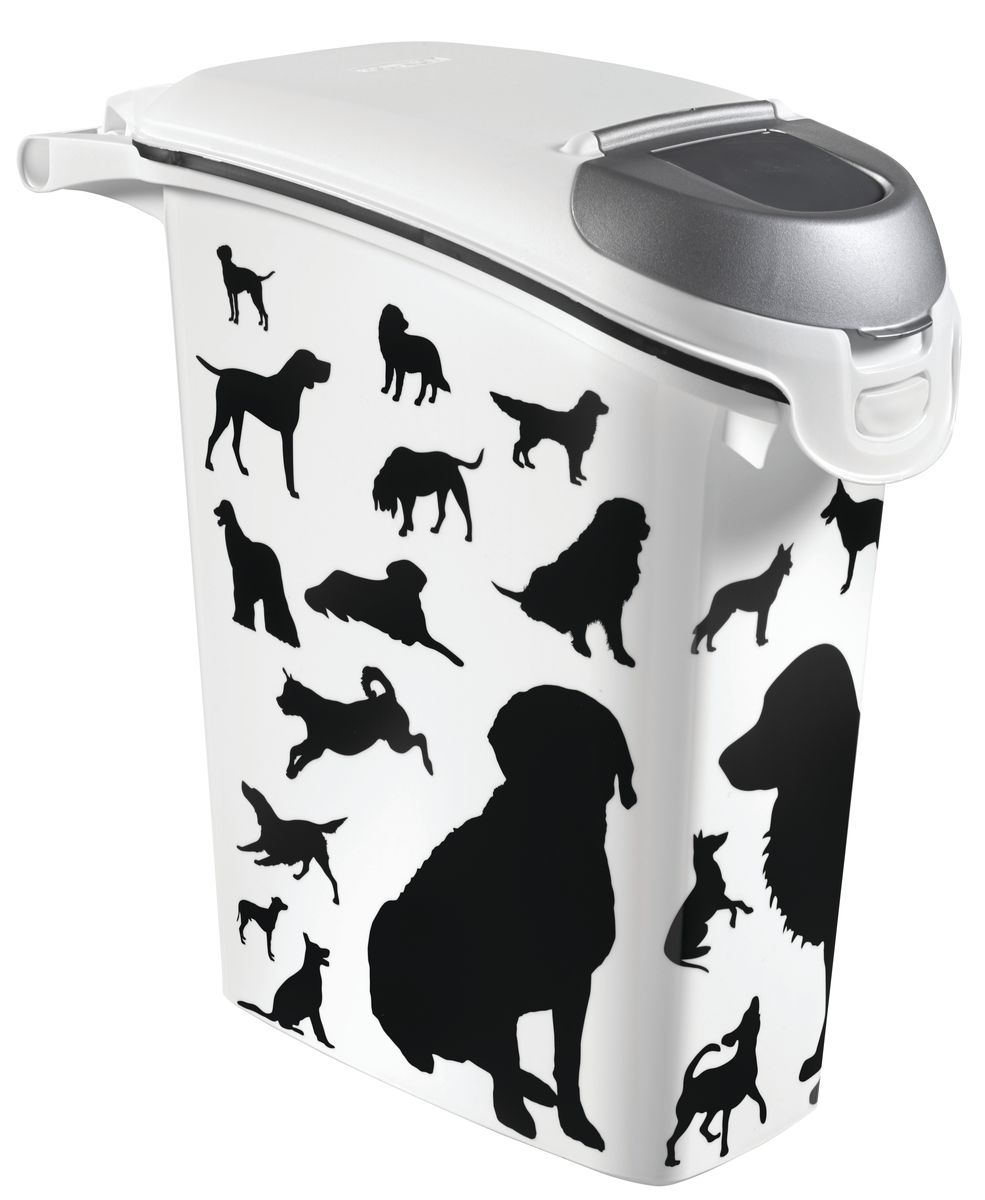 "Контейнер Curver ""Pet Life. Собаки"" для хранения сухого корма, 23 л"