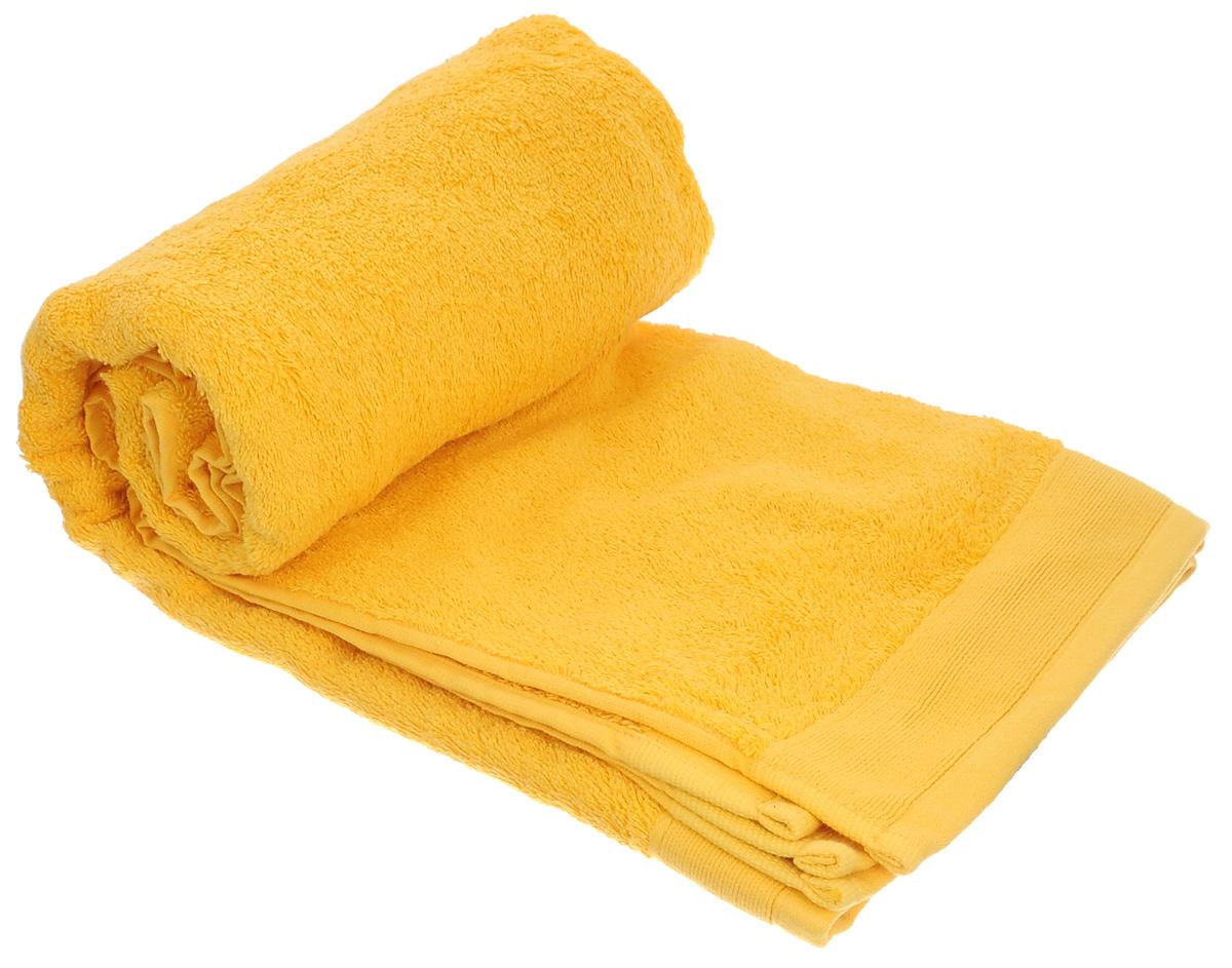 Полотенце махровое Guten Morgen, цвет: желтый, 70 см х 140 см полотенце махровое guten morgen гладкокрашенное пммок 70 140 мокко 70 х 140 см