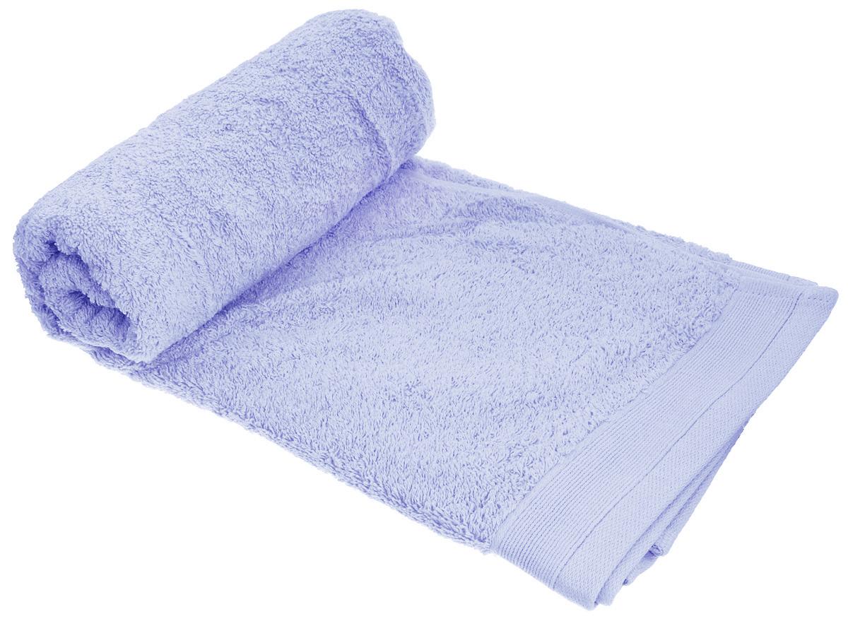 Полотенце махровое Guten Morgen, цвет: небесно-голубой, 70 х 140 см полотенце махровое guten morgen гладкокрашенное пммок 70 140 мокко 70 х 140 см