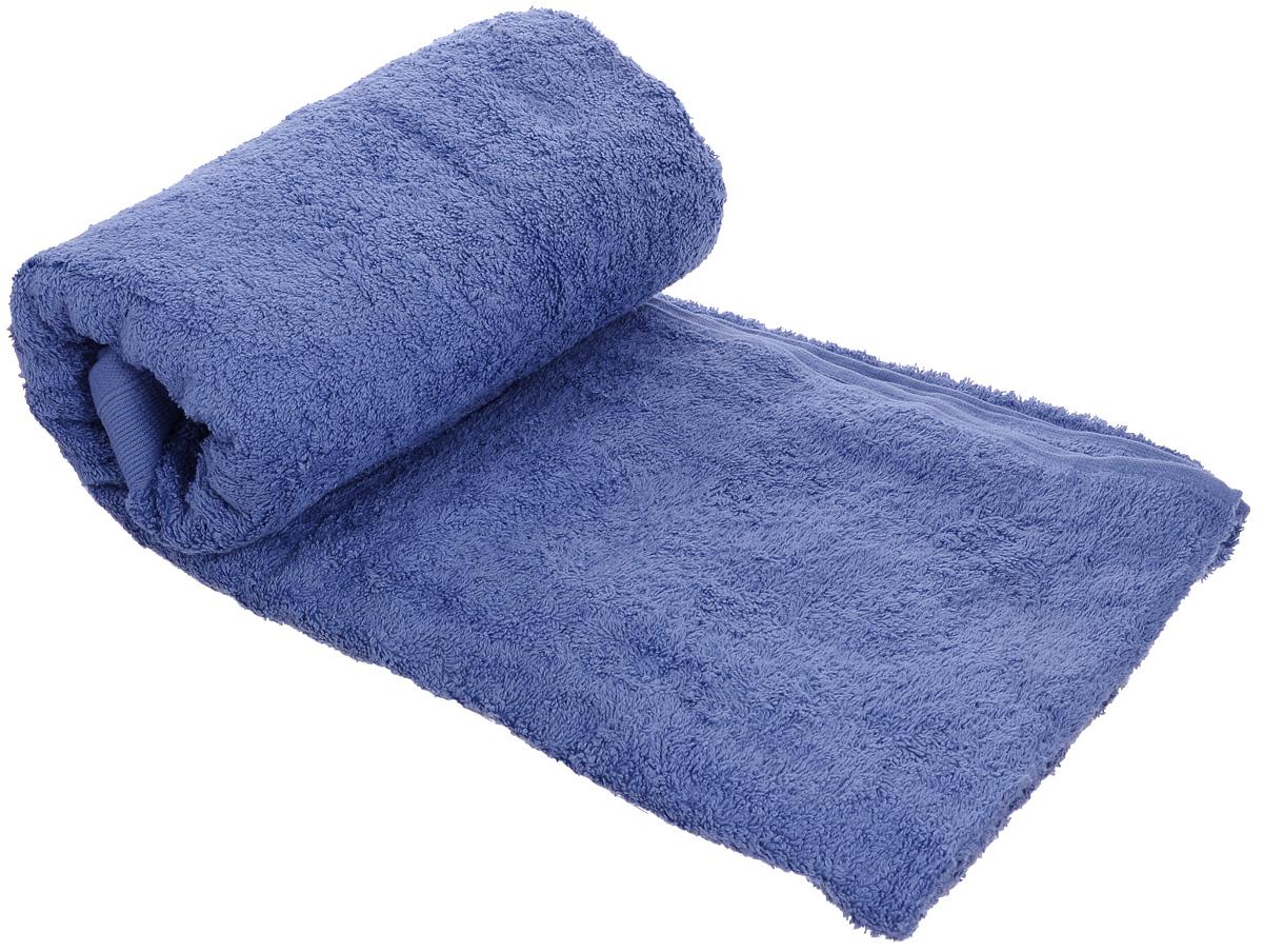 Полотенце махровое Guten Morgen, цвет: темно-голубой, 50 см х 100 см полотенце махровое guten morgen цвет темно голубой 50 см х 100 см