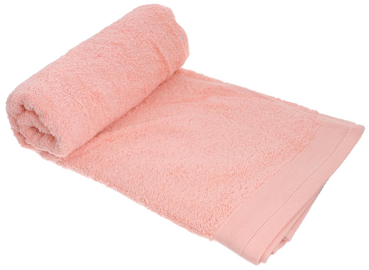 Полотенце махровое Guten Morgen, цвет: персиковый, 70 см х 140 см полотенце махровое guten morgen гладкокрашенное пммок 70 140 мокко 70 х 140 см