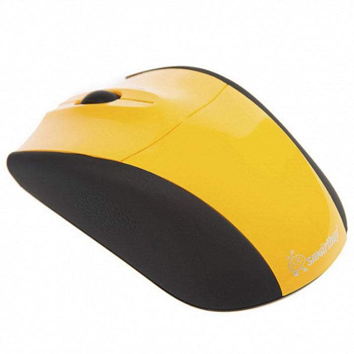 лучшая цена Мышь SmartBuy SBM-325AG, Yellow
