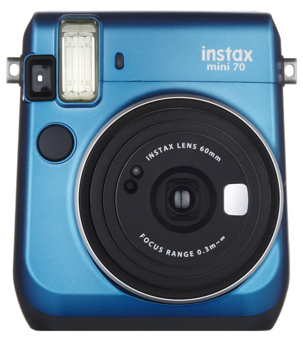 Fujifilm Instax Mini 70, Blue фотокамера мгновенной печати pink wig ombre