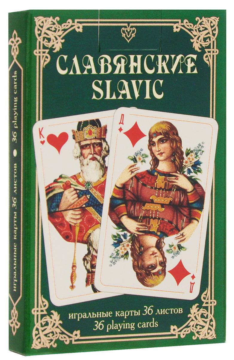 Игральные карты Piatnik Славянские 1342 карты игральные профессиональные piatnik rosette 56 карт