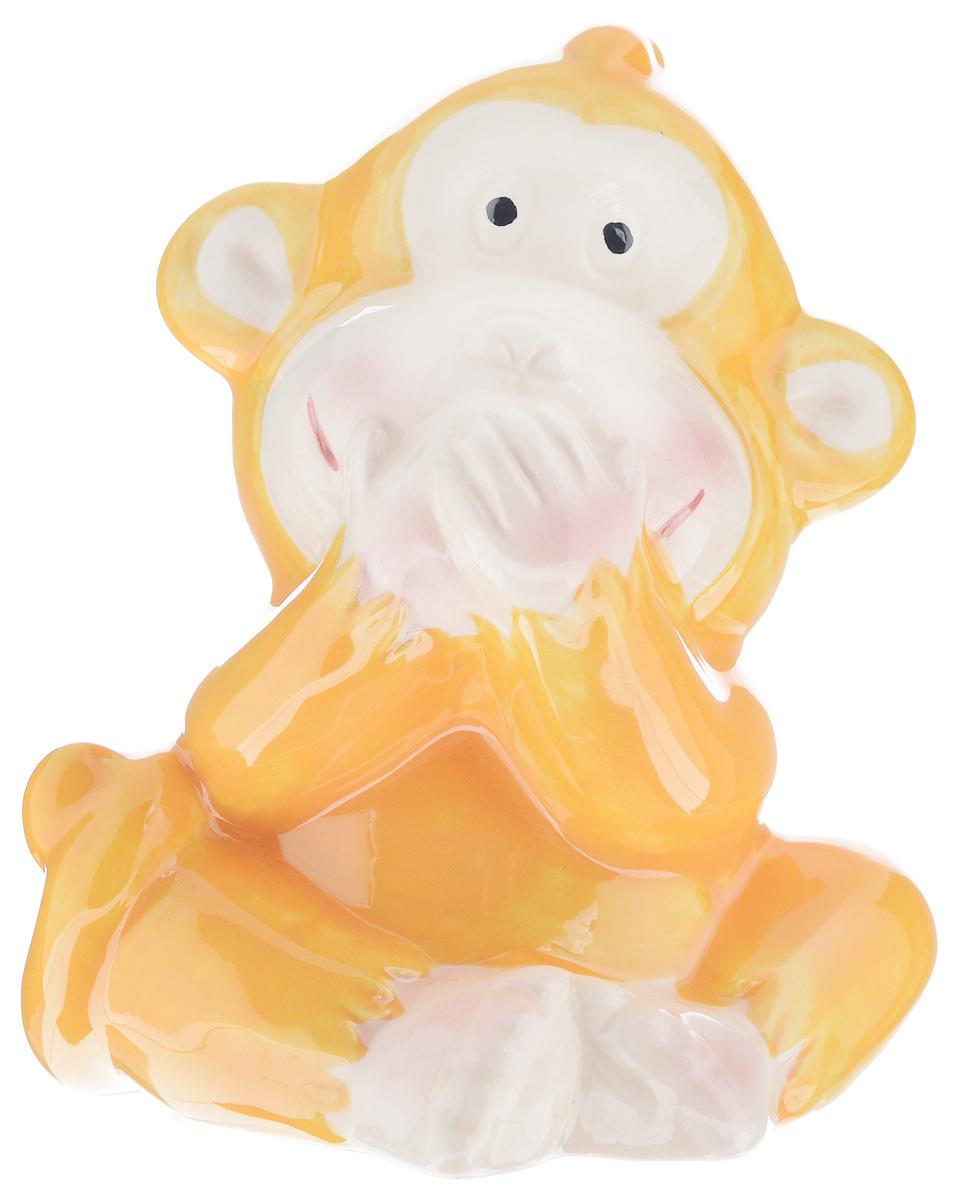 Сувенир Sima-land Обезьянка игривая, высота 8,5 см. 1056095 подсвечник декоративный sima land обезьянка в шарфике на шаре высота 13 3 см