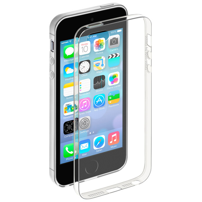Deppa Gel Case чехол для Apple iPhone 5/5s, Clear deppa gel case чехол для apple iphone 5 5s clear
