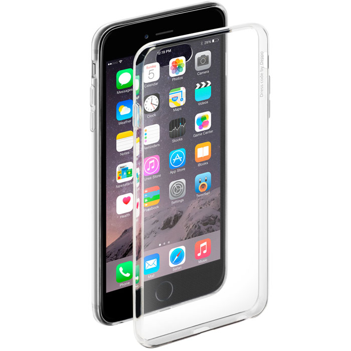 Deppa Gel Case чехол для Apple iPhone 6 Plus/6s Plus, Clear