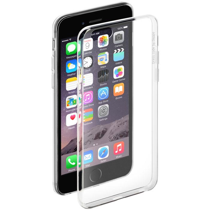 Deppa Gel Case чехол для Apple iPhone 6/6s, Clear deppa art case чехол для apple iphone 6 6s jungle колибри