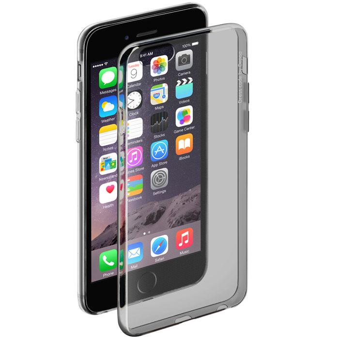 Deppa Gel Case чехол для Apple iPhone 6/6s, Clear Black deppa art case чехол для apple iphone 6 6s jungle колибри
