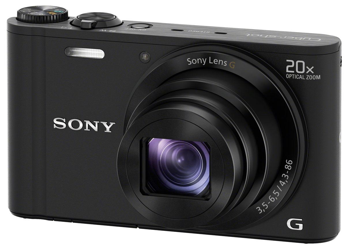 Компактный фотоаппарат Sony Cyber-shot DSC-WX350, Black