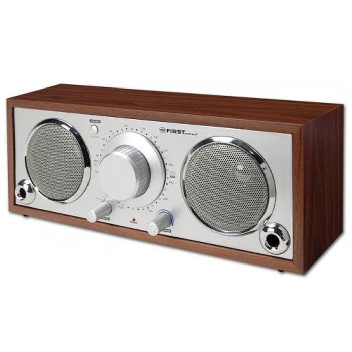 Радиоприемник First FA-1907-1 Silver/wood цена