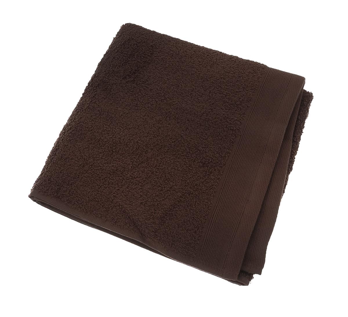Полотенце махровое Guten Morgen, цвет: какао, 50 х 100 см полотенце махровое guten morgen цвет темно голубой 50 см х 100 см