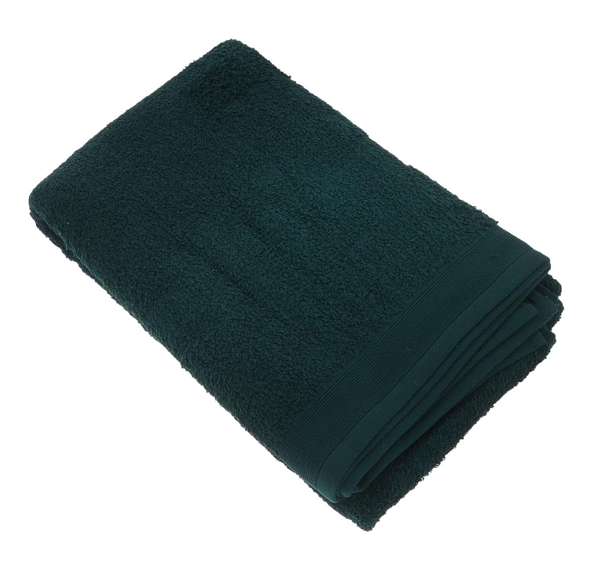 Полотенце махровое Guten Morgen, цвет: темно-зеленый, 100 х 150 см полотенце махровое guten morgen цвет темно голубой 50 см х 100 см