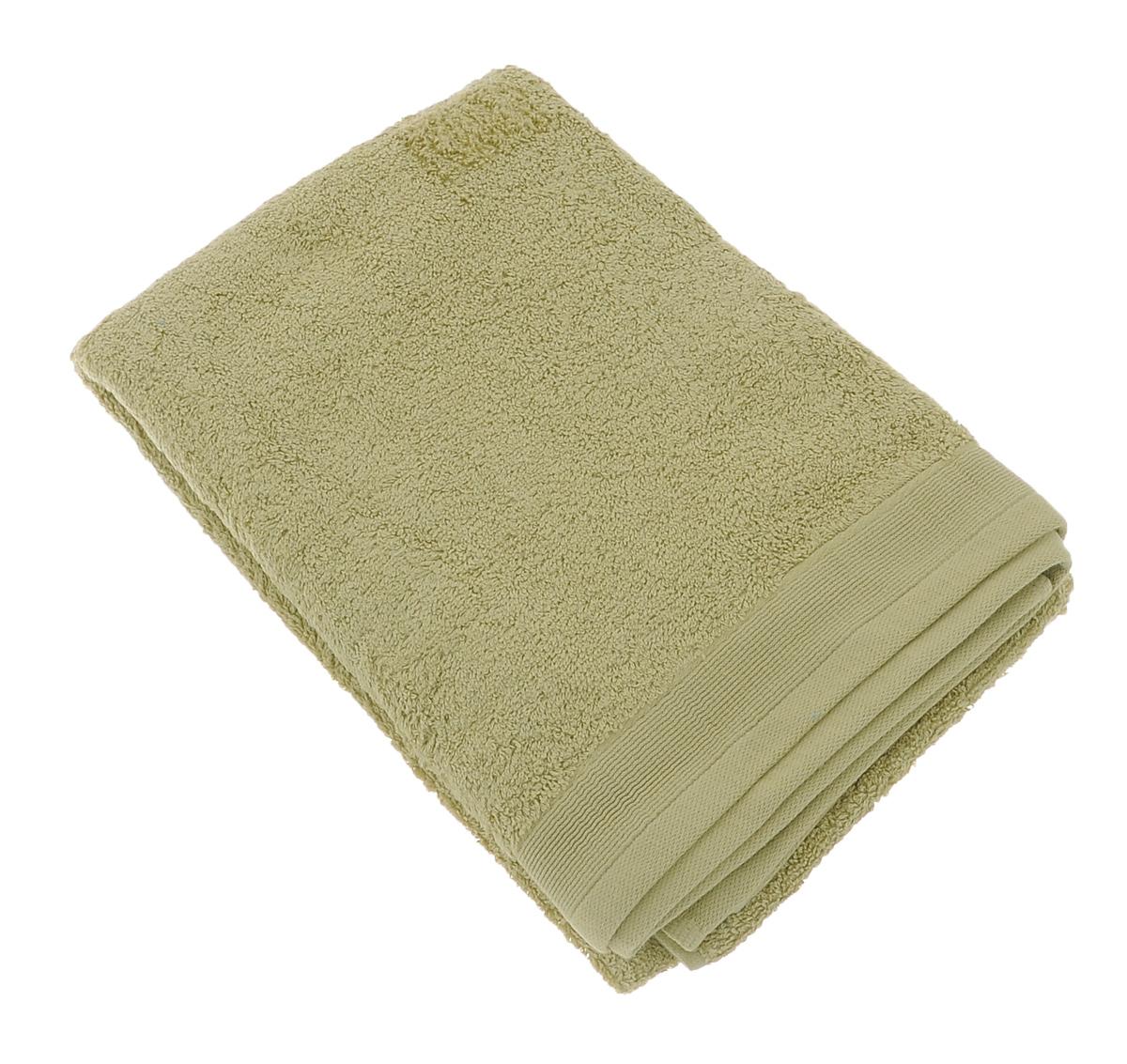 Полотенце махровое Guten Morgen, цвет: фисташковый, 70 см х 140 см полотенце махровое guten morgen гладкокрашенное пммок 70 140 мокко 70 х 140 см