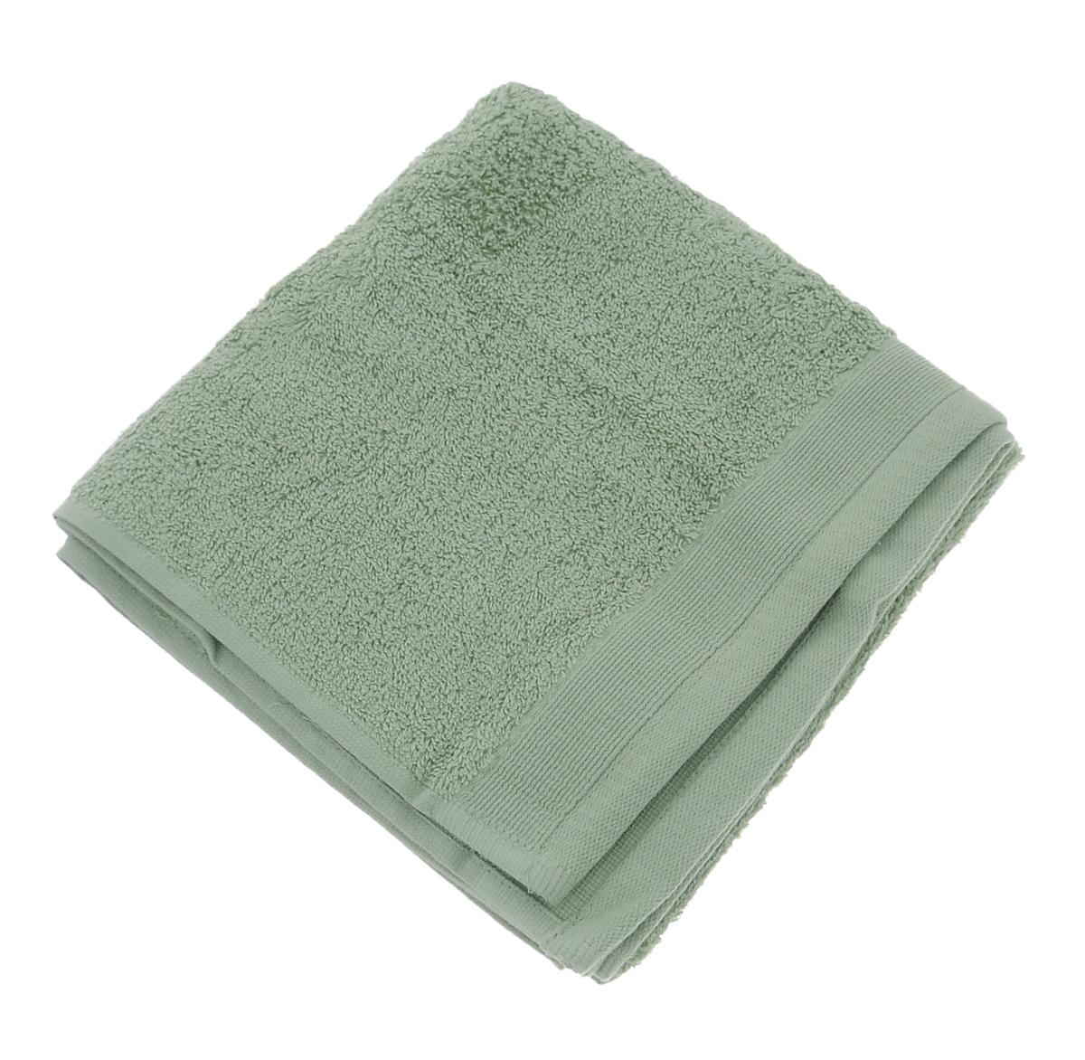 Полотенце махровое Guten Morgen, цвет: светло-зеленый, 50 см х 100 см полотенце махровое guten morgen цвет темно голубой 50 см х 100 см