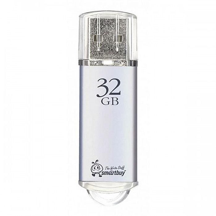 SmartBuy V-Cut 32GB, Silver USB-накопитель usb флеш накопитель smartbuy v cut 32gb usb 2 0 sb32gbvc s