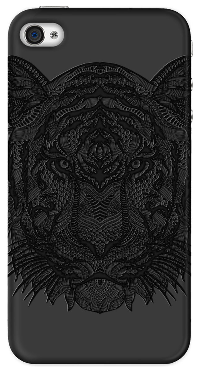 все цены на Deppa Art Case чехол для Apple iPhone 4/4s, Black (тигр) онлайн