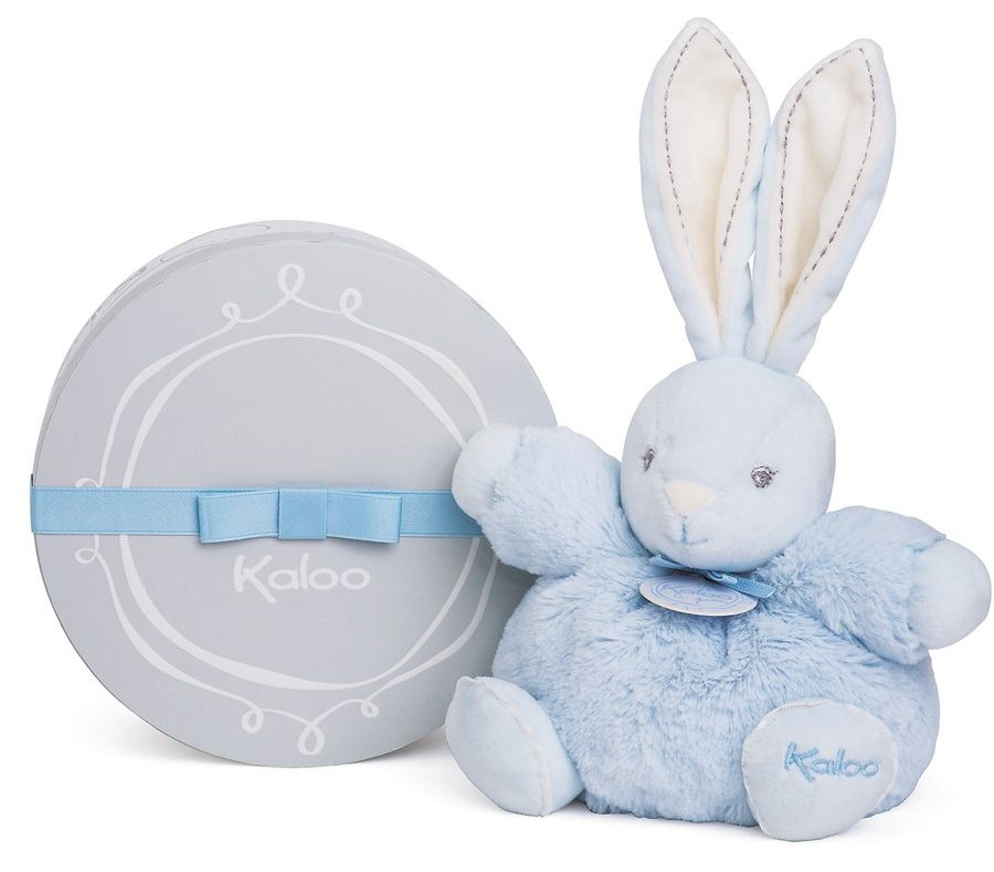 Kaloo Мягкая игрушка Заяц средний Жемчуг цвет голубой