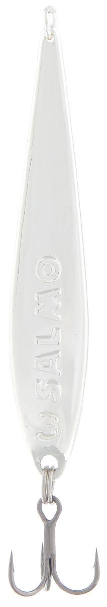 Блесна вертикальная зимняя Lucky John, цвет: серебряный, 5,5 см, 6 г блесна вертикальная зимняя lucky john цвет серебряный 4 2 см 3 5 г