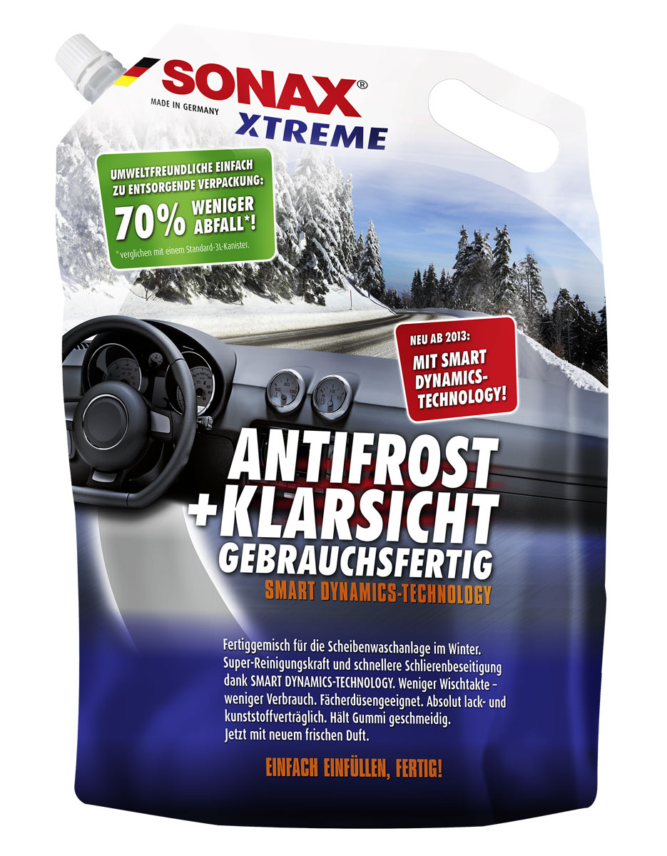 Автостеклоочиститель зимний Sonax Xtreme -20, 3 л автошампунь концентрат 2в1 sonax xtreme 1 л