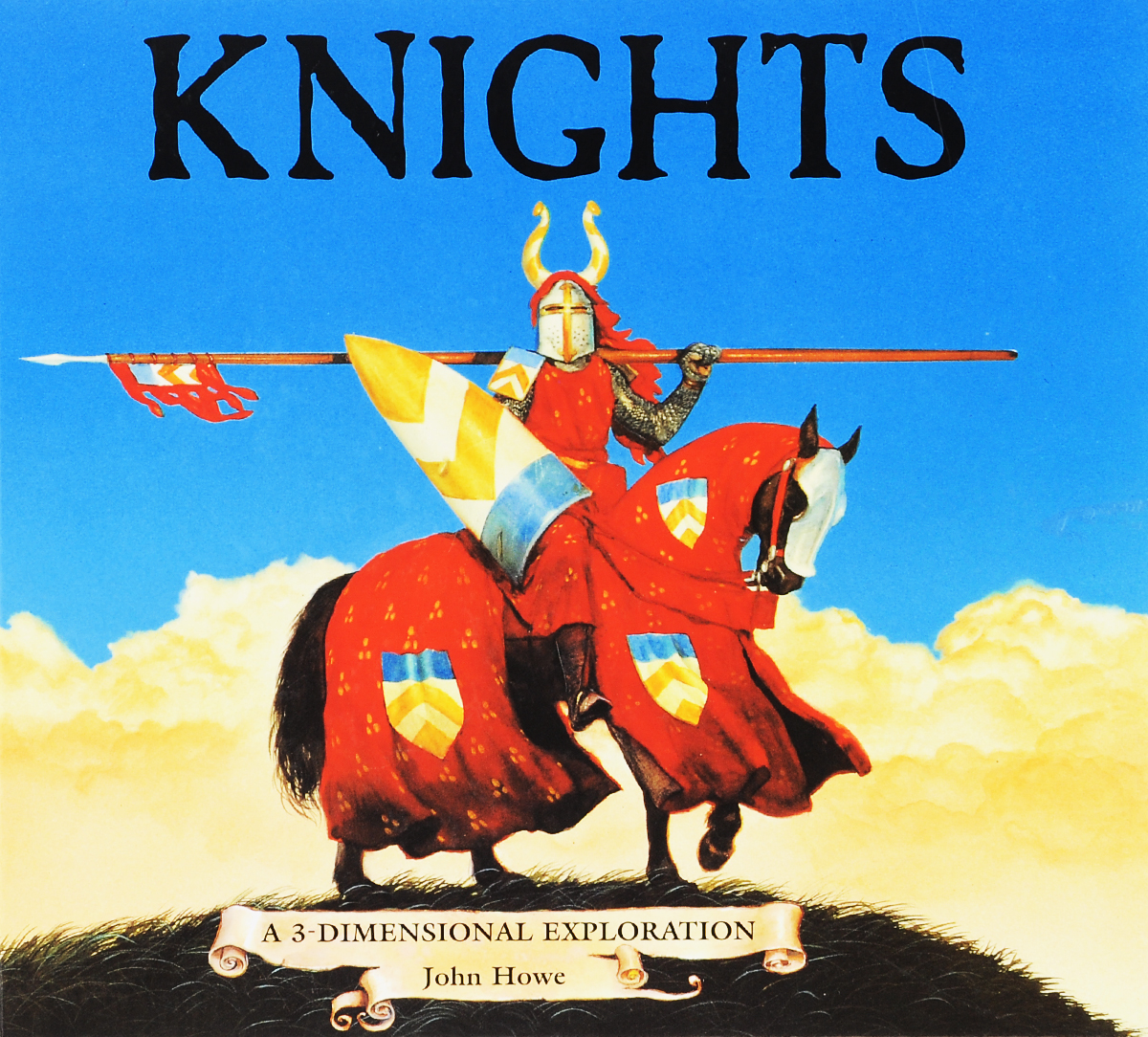 Knights: A 3-Dimensional Exploration. Книжка-панорамка. Доставка по России