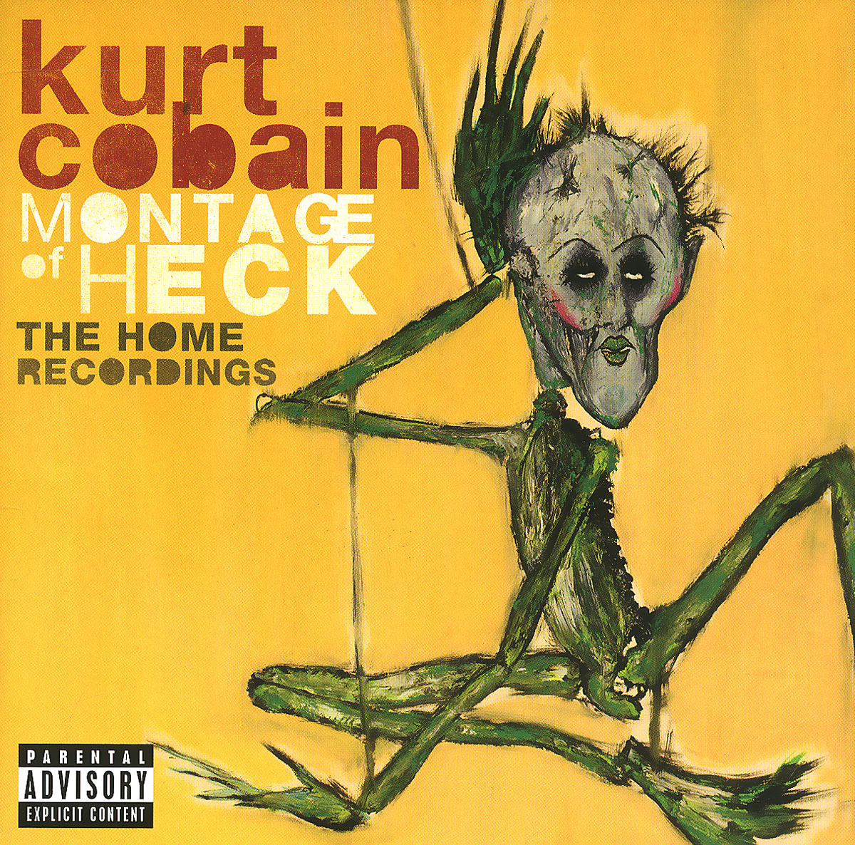 Курт Кобейн Kurt Cobain. Montage Of Heck. The Home Recordings. Deluxe rapacia the second circle of heck