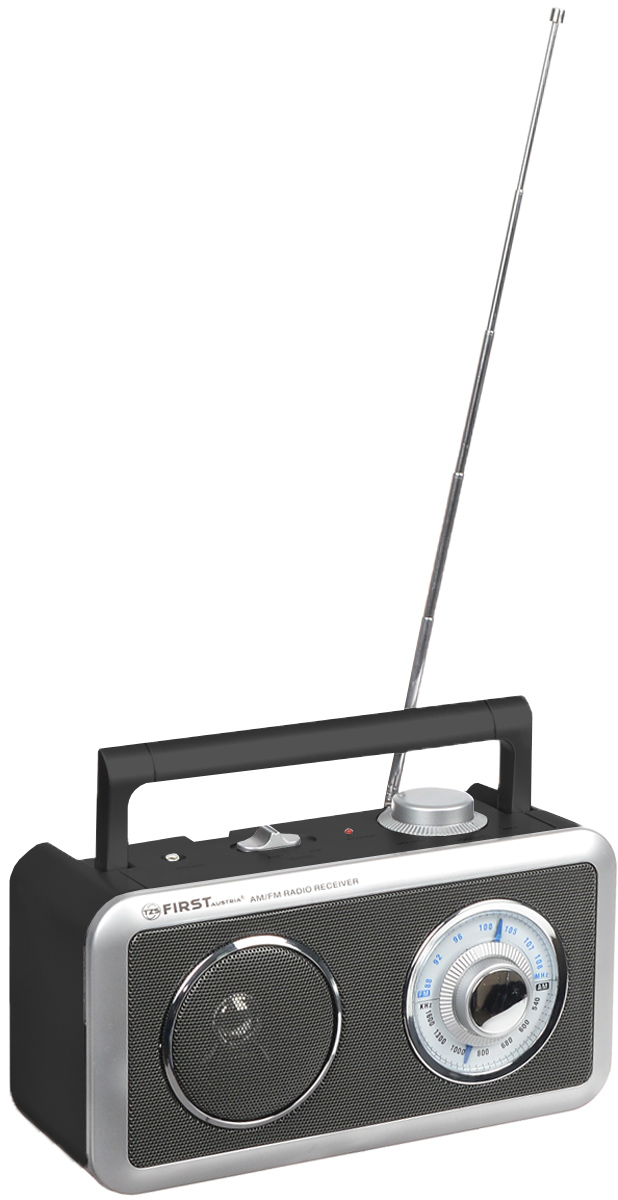 Радиоприемник First FA-1905 Black цена