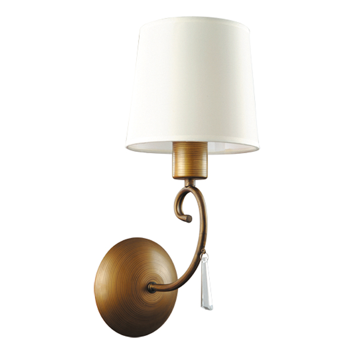 все цены на Светильник настенный Arte Lamp Carolina A9239AP-1BR онлайн
