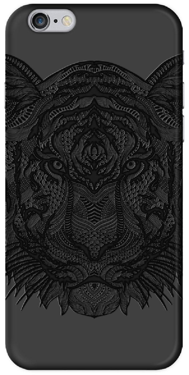 Deppa Art Case чехол для Apple iPhone 6/6s, Black (тигр) deppa art case чехол для apple iphone 6 6s jungle колибри