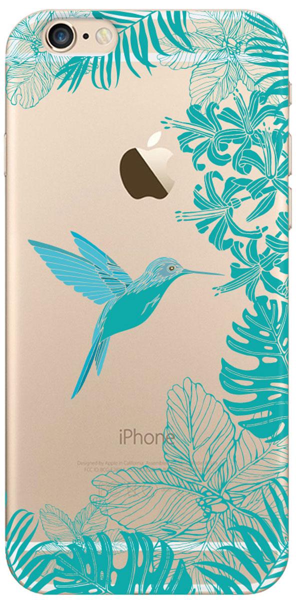 Deppa Art Case чехол для Apple iPhone 6/6s, Jungle (колибри) deppa art case чехол для apple iphone 6 6s jungle колибри