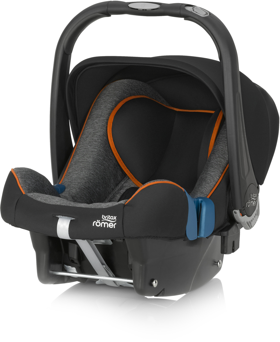 Romer Автокресло Baby-Safe Plus SHR II Black Marble до 13 кг britax römer автокресло britax romer versafix 9 18 кг steel grey