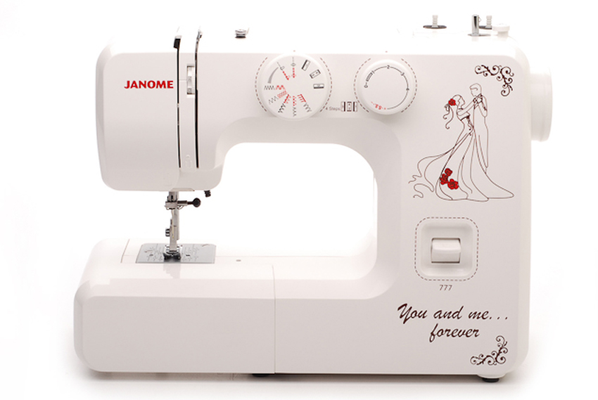 Janome 777 швейная машина