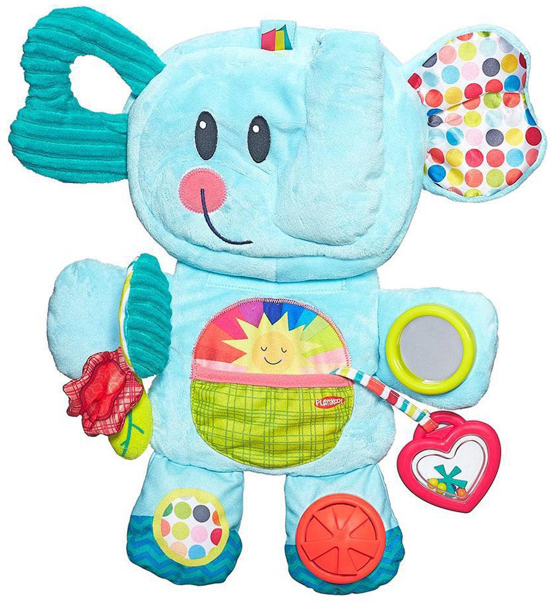 Playskool Мягкая развивающая игрушка Веселый слоник цена