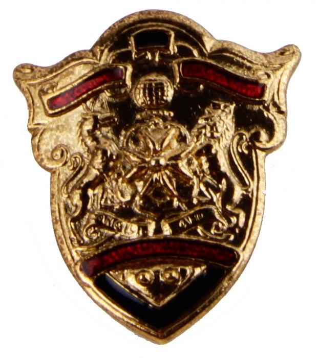 Брошь от Butler & Wilson Орден империи. Бижутерный сплав, эмаль. Butler & Wilson. Великобритания, середина ХХ века брошь от butler