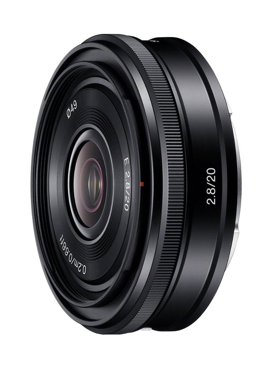 Объектив Sony 20mm F/2.8, Black для Nex