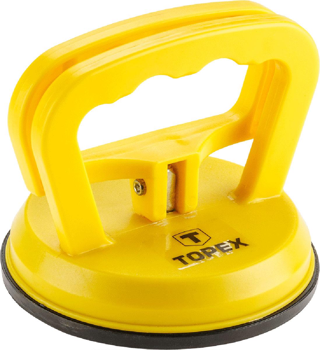 """Стеклодомкрат """"Topex"""", одинарный, цвет: желтый, черный, до 40 кг"""
