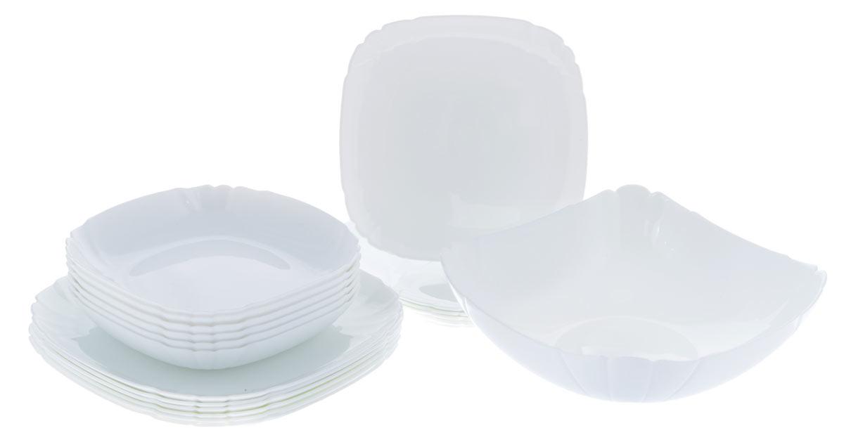 """Набор столовой посуды Luminarc """"Lotusia"""", 19 предметов"""