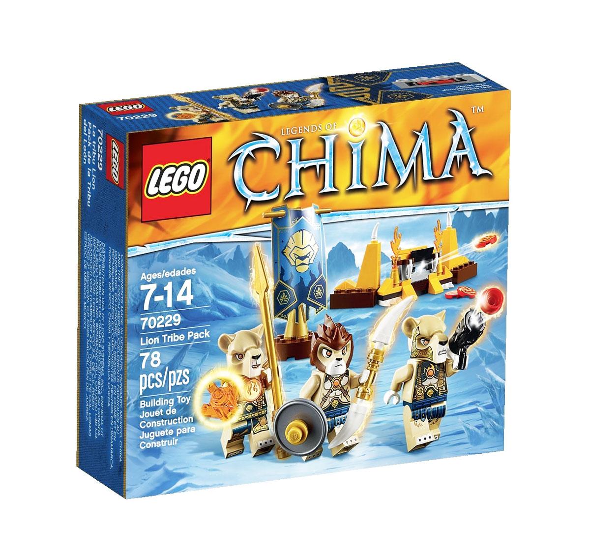 LEGO Legends of Chima Конструктор Лагерь Клана Львов настольные игры львов