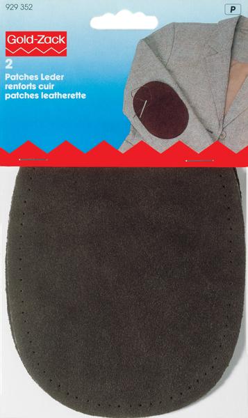 Заплатка для пришивания Prym, цвет: коричневый, 2 шт заплатка для одежды 20y12708 20pcs lot 88 75