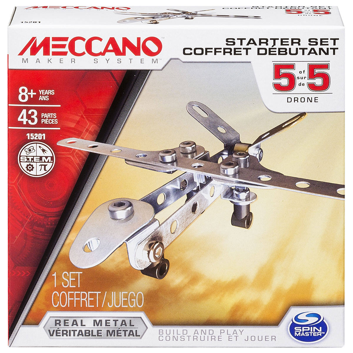 цены Meccano Конструктор Базовая модель 5