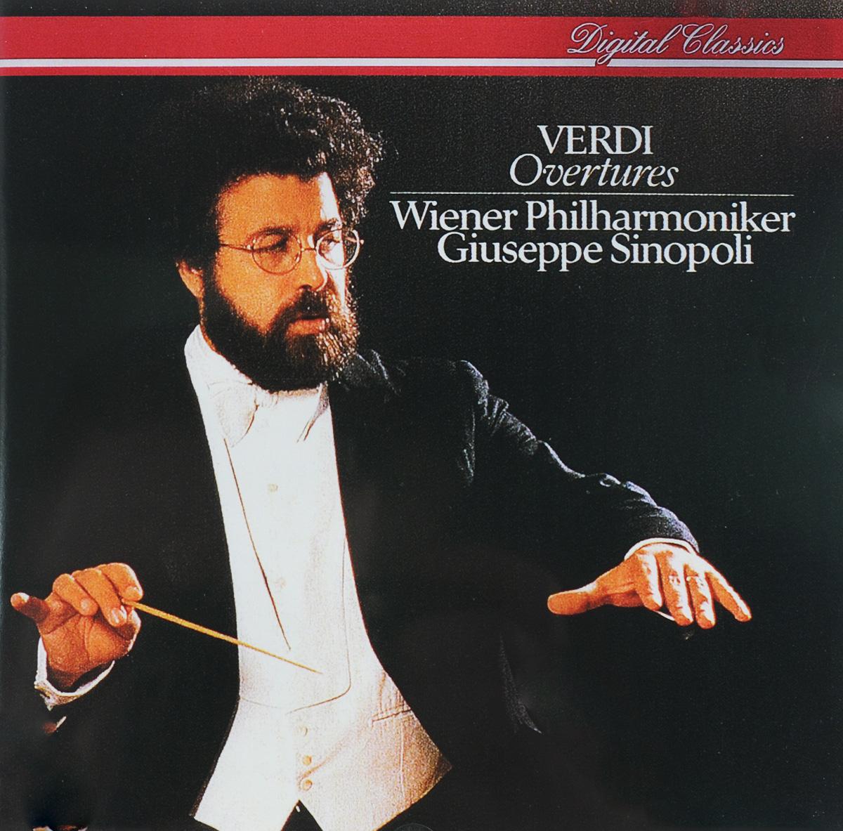 Джузеппе Синополи,Wiener Philharmoniker,Vienna Philharmonic Orchestra Giuseppe Sinopoli. Verdi. Overtures giuseppe verdi falstaff