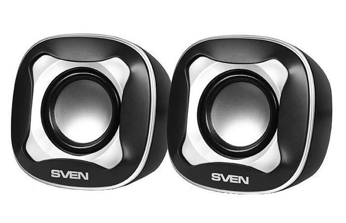 Акустическая система Sven 170, Black White 2.0 цена