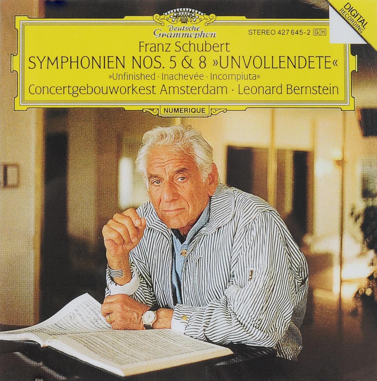 Леонард Бернштейн,Concertgebouworkest Amsterdam Leonard Bernstein. Franz Schubert. Symphonien Nos. 5 & 8 Unvollendete leonard bernstein beethoven the amnesty international concert symphonies nos 7