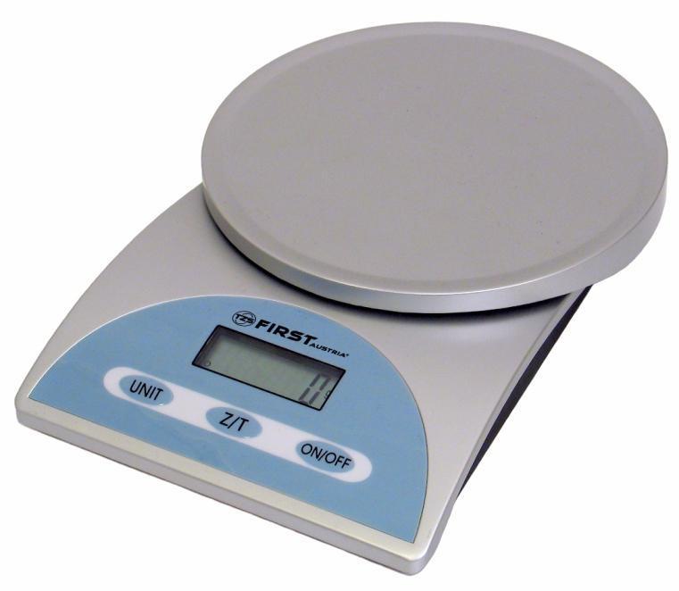 Кухонные весы First FA-6405 Silver весы кухонные first special edition fa 6410 коричневый