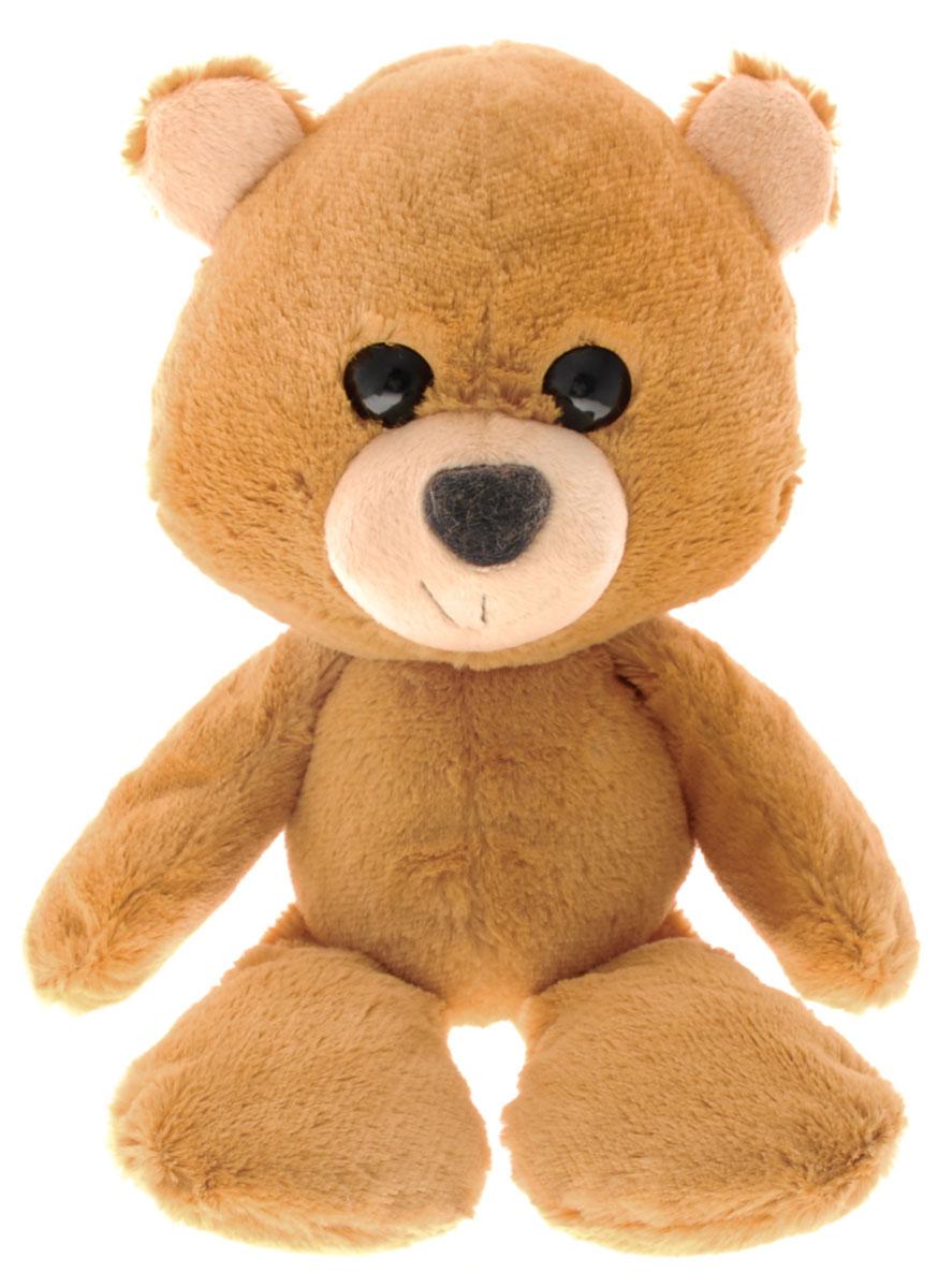 Fancy Мягкая игрушка Мишка Барри цвет светло-коричневый 22 см