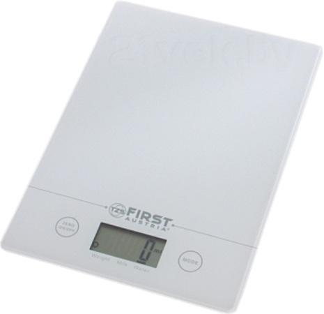 First FA-6400, White весы кухонные кухонные весы saturn st ks7235 white